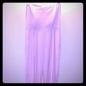 Forever 21 lilac jumpsuit medium